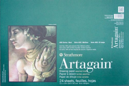 Strathmore Series 400 Artagain - Assorted Tints Pad 9x12
