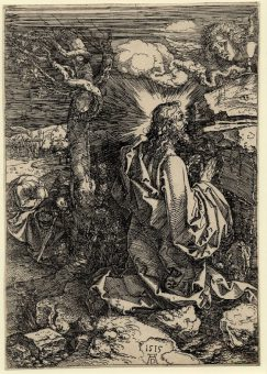Etching Course London Fine Art Studios Albrecht Durer Agony in the Garden