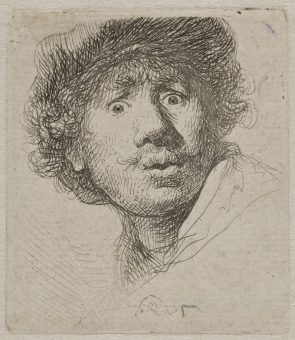 Etching Course London Fine Art Studios Rembrandt Self Portrait