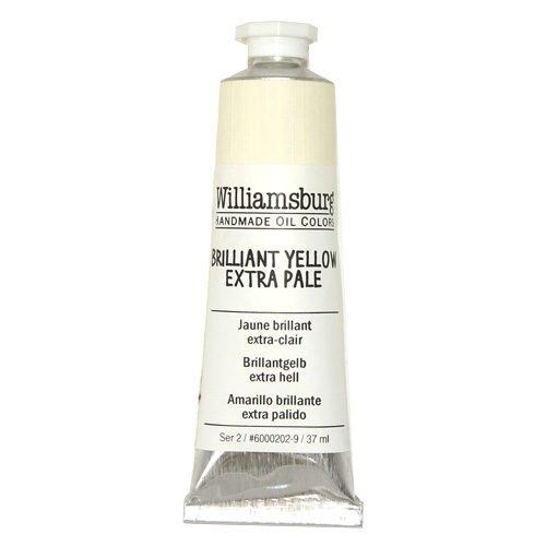 Williamsburg Oil Colour Brilliant Yellow Extra Pale 37ml