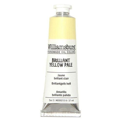 Williamsburg Oil Colour Brilliant Yellow Pale 37ml