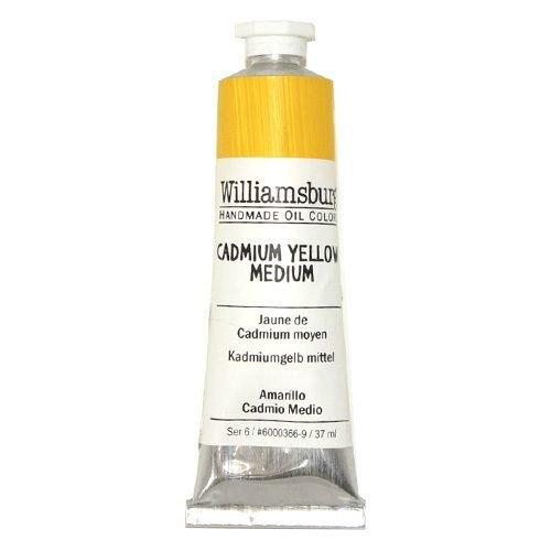 Williamsburg Oil Colour Cadmium Yellow Medium 37ml