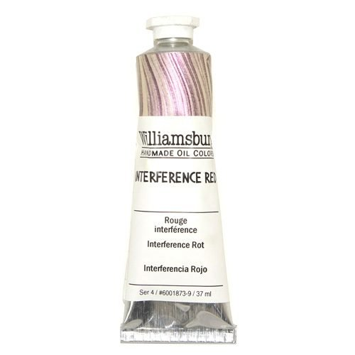Williamsburg Oil Colour Interference Red 37ml