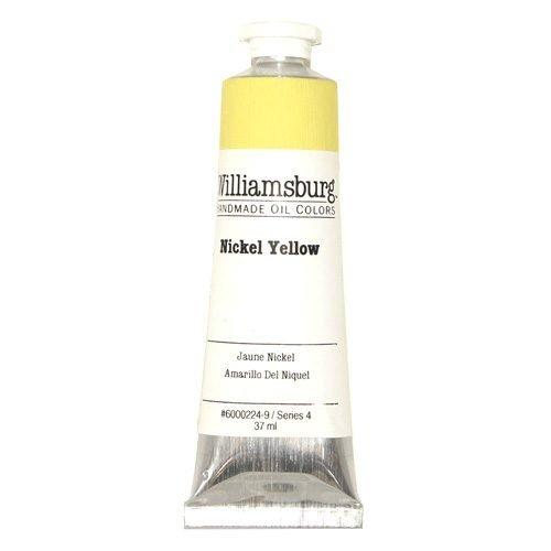 Williamsburg Oil Colour Nickel Yellow 37ml