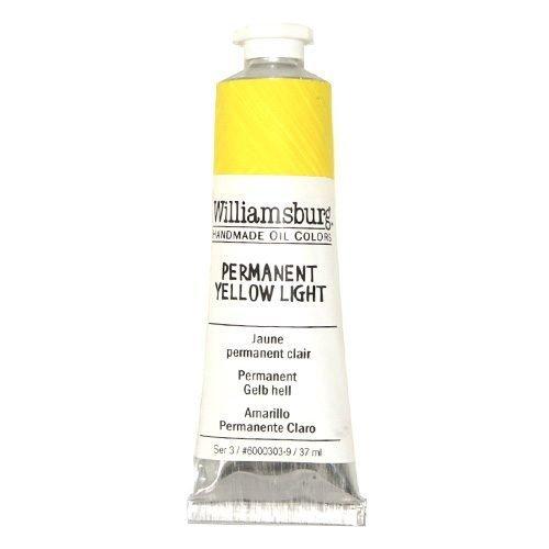 Williamsburg Oil Colour Permanent Yellow Light 37ml
