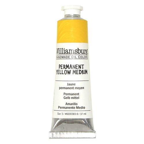 Williamsburg Oil Colour Permanent Yellow Medium 37ml