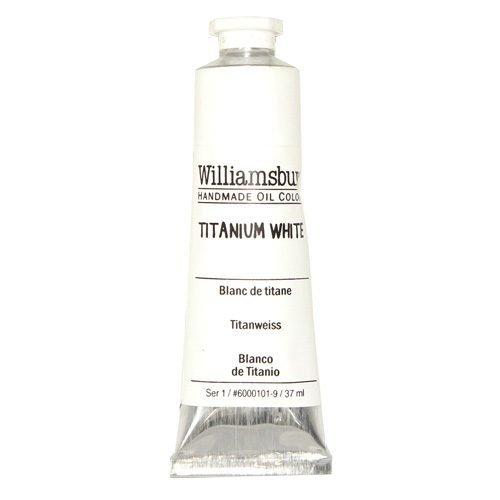 Williamsburg Oil Colour Titanium White 37ml