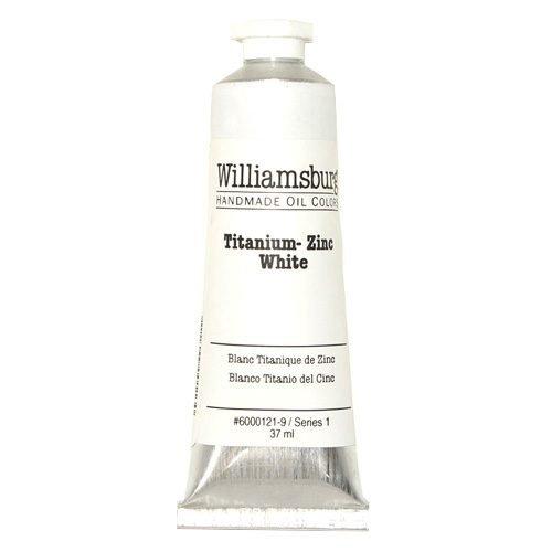 Williamsburg Oil Colour Titanium Zinc White 37ml