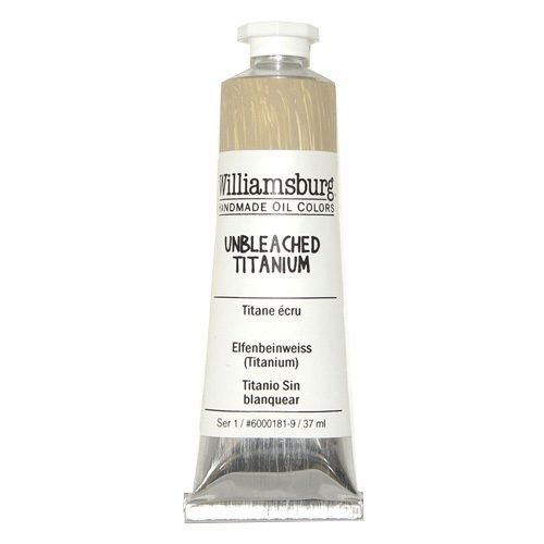 Williamsburg Oil Colour Unbleached Titanium 37ml
