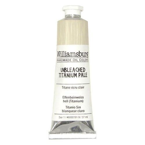 Williamsburg Oil Colour Unbleached Titanium Pale 37ml