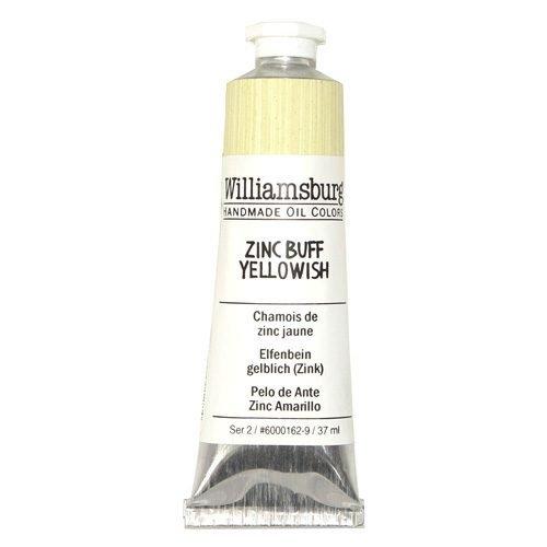 Williamsburg Oil Colour Zinc Buff Yellowish 37ml
