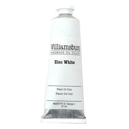 Williamsburg Oil Colour Zinc White 37ml