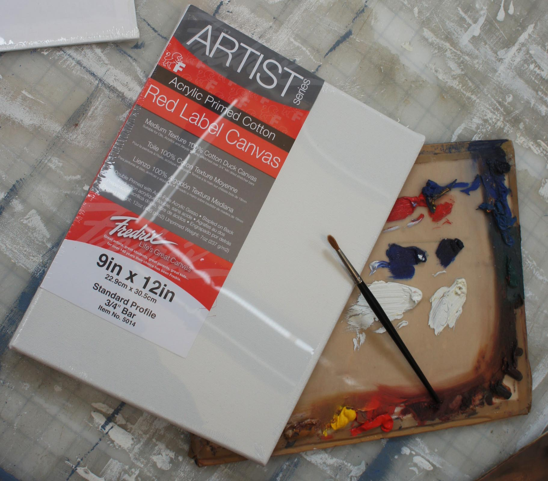 Canvas Fredrix – London Art Shop : Buy Art Supplies